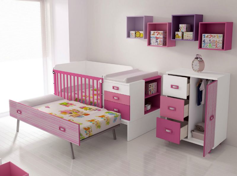 Mobiliario cunas convertibles muebles gon vall for Muebles convertibles